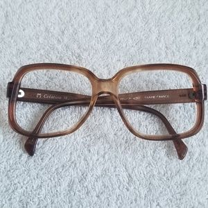BADASS 60's French Glasses Frames by Creation Marc